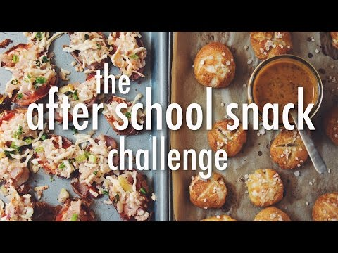 Xxx Mp4 THE AFTER SCHOOL SNACK CHALLENGE Hot For Food 3gp Sex