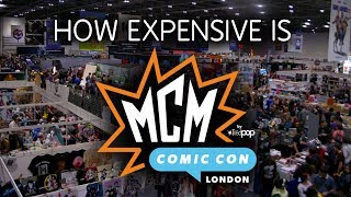 How Expensive is MCM London Comic Con?