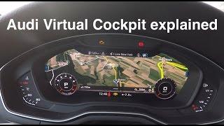 Audi Virtual Cockpit explained