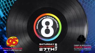 SoulFreak 8 by DJ Paulo Arruda | Live session at Radio 95 FM