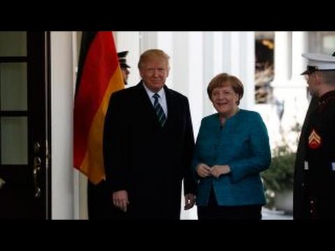 Nigel Farage Trump Merkel meeting is clash of cultures