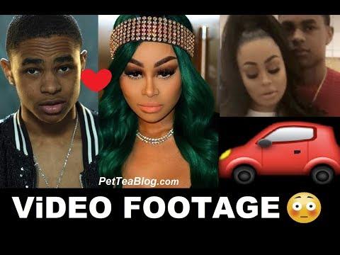 Xxx Mp4 Blac Chyna Saves Boyfriend From Getting Hit By CAR VIDEO Footage 🚗👀 3gp Sex