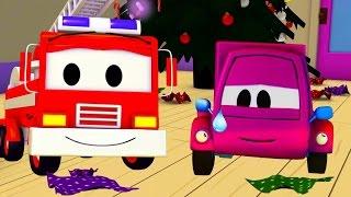 Mobil patroli: Truk Pemadam Kebakaran dan Mobil Polisi dan Suzy dan Hadiah Yang Dicuri di Kota Mobil