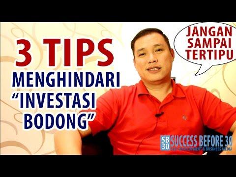 3 Tips Menghindari Investasi Bodong