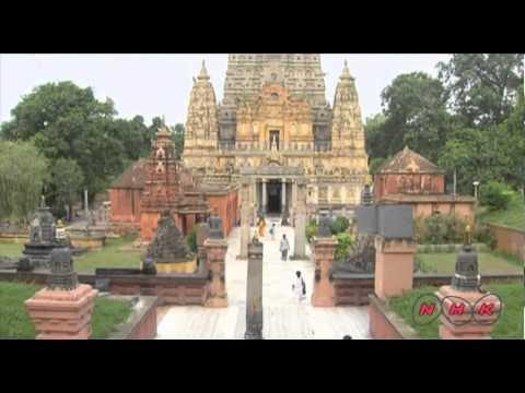 Mahabodhi Temple Complex at Bodh Gaya (UNESCO/NHK)