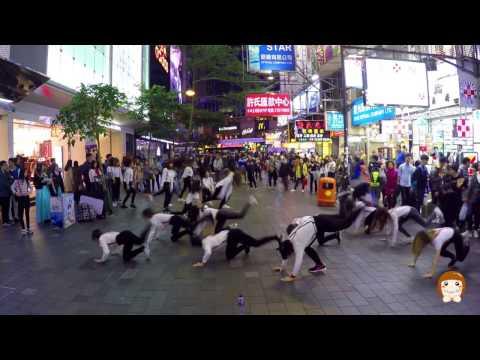 K-pop Flashmob in Hong Kong by Touching 17th Dec 2016 / 2016年12月17日 香港 K-POP快閃 /K-POP플레시몹