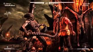 Mortal Kombat XL whooped my ass! (Online Versus)