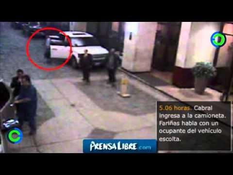 Así mataron a Facundo Cabral imágenes de cámaras de circuito cerrado cctv