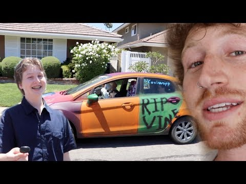 SURPRISING BROTHER WITH A CAR FOR HIS BIRTHDAY!!