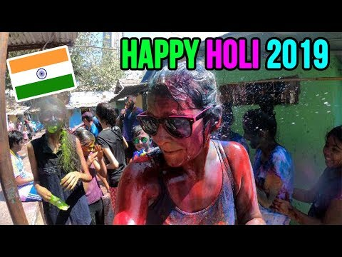 Xxx Mp4 Foreigners Playing HOLI 2019 With AMAZING INDIAN PEOPLE 3gp Sex