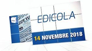 Rassegna Stampa 14 Novembre 2018. A Cura di Giovanni Scandiffio