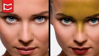 #4 Adobe Photoshop CS6 - Camera Raw - Göz ve Dudak Rengi Değiştirme