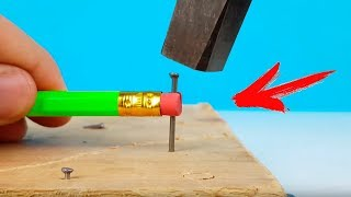 11 Simple Life Hacks with Pencil