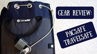 Pacsafe Travelsafe | Portable Safe for Securing Your Valuables While Traveling