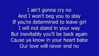 Always Be My Baby - David Cook w/ lyrics!