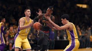 NBA Live 1/7 - Atlanta Hawks vs Los Angeles Lakers | NBA JAN 7 Full Game Hawks vs Lakers NBA LIVE 18