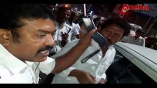 TRS Leader Mothilal Nayak Caught In Drunk And Drive | Warangal | Sneha TV Telugu