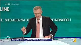 Ludopatia e decreto dignità: faccia a faccia tra Endrizzi (M5S) e Lindhal (Leovegas)