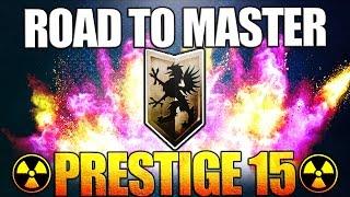 Road To Master Prestige - Prestige 15 Infinite Warfare