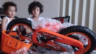 🔥$فاجأت آسر بدراجة جديدة🔥