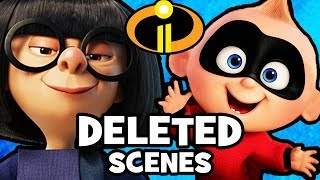 10 DELETED SCENES & Story Changes From INCREDIBLES 2!