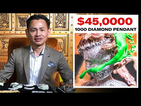 Expert Jeweler Johnny Dang Shows Off His Insane Jewelry Inventory GQ