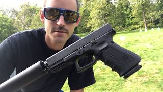 Gen 4 Glock G19 Test Suppressor. G19C G4