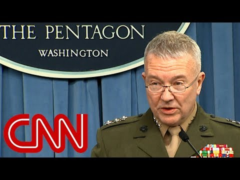 Pentagon Every Syrian target hit successfully