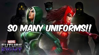 UNCANNY AVENGERS? ROGUE & SCARLET WITCH NEW LOOK!! - Marvel Future Fight
