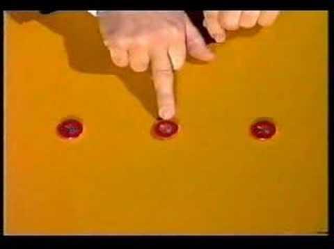 3 Coin Monte. Eddie Gibson