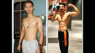 Best Indian teen transformation Video from Skinny To Muscular