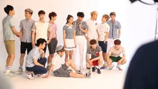EXO - IVY Club Ads. Photo Making (BTS) [HD]