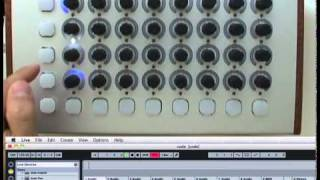The Code MIDI controller: Ableton preview
