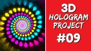 3D Hologram Project - 3D Hologram Project #09