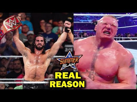 Real Reasons Why Seth Rollins Won Universal Title from Brock Lesnar at SummerSlam 2019