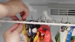 Binder Clip Freezer Reorg