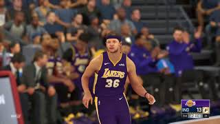 2021-2022 Lakers vs Pacers