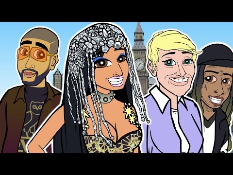 Download Nicki Minaj - No Frauds ft. Drake, Lil Wayne (CARTOON PARODY) free
