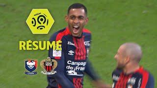 SM Caen - OGC Nice (1-1)  - Résumé - (SMC - OGCN) / 2017-18