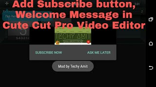 Tutorial    APK Editor    How to Add Splash Screen, Popup  and Youtube Link in Cute Cut Pro