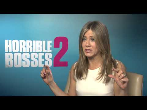 Jennifer Aniston Interview with GLAMOUR Horrible Bosses 2