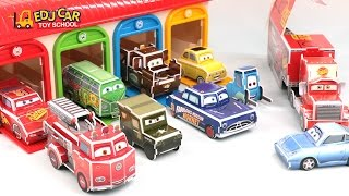 Learning Color Number With Special Disney Pixar Cars Lightning McQueen Puzzle for kids car toys