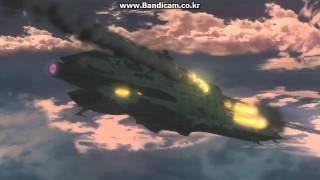 Yamato 2199 Rainbow Star Cluster Battle fighter scene