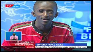 Guest Anchor: Njugush pulls a crazy 'stunt' on Friday Briefing with Betty Kyallo