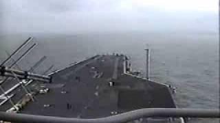 Friends and Family Cruise on the USS Enterprise ( CVN-65 ) - F-14 Tomcat & F-18 Hornet - 10/18/97