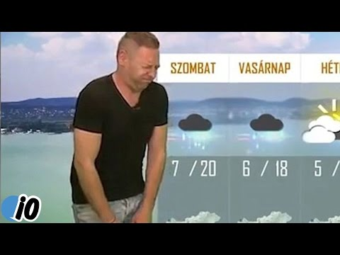 Weather Forecaster Fired For Continuously Farting On Live TV