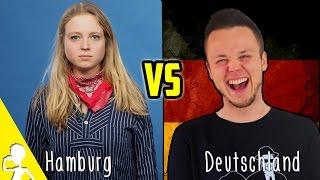 Normal Germans VS Hamburg Germans   Get Germanized w/ KleinAberHannah