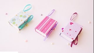 Mini notebook portatili Tutorial - ENG SUBS DIY Mini Notebooks