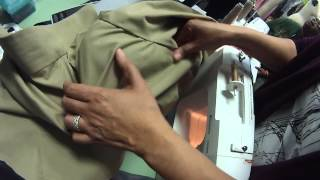 Blouse:  Pressing the armscye