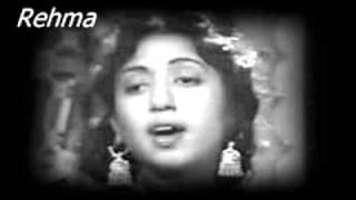 Film Kanwari Baiwa(1956) har raat poochte hai Singer Zubaida Khanum